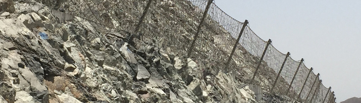 Rockfall-Barriers-in-Dubai-Fujairah-Highway