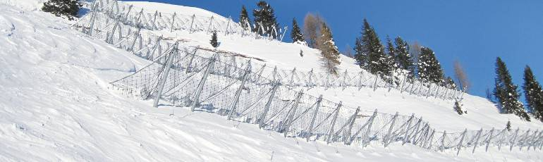 snow fences Maccaferri