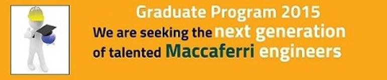 maccaferri graduate program 2015