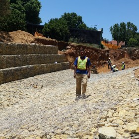 Popular Johannesburg dam gets important facelift - Maccaferri Corporate
