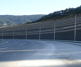 Maccaferri Soil Reinforcement and Retaining Wall