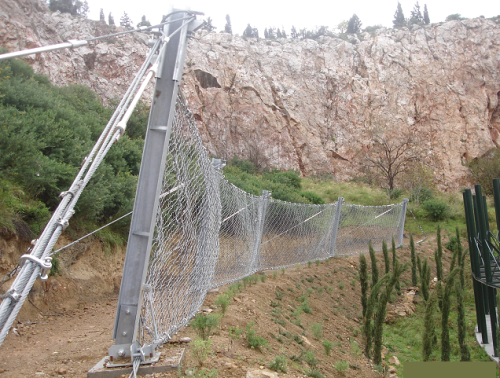 ROCKFALL BARRIER 2000KJ -GREECE