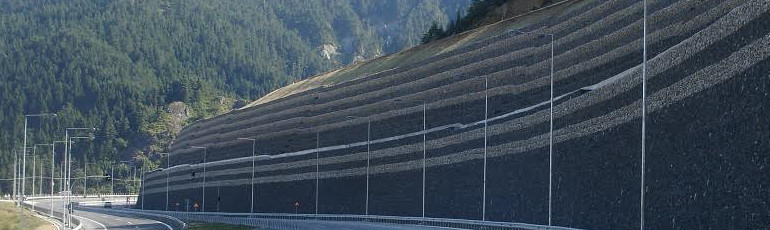 Retaining wall and Soil reinforcement | Maccaferri India