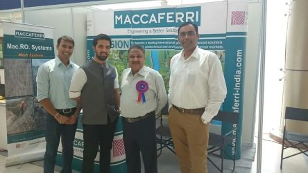 International Seminar on New Construction Materials - Maccaferri India