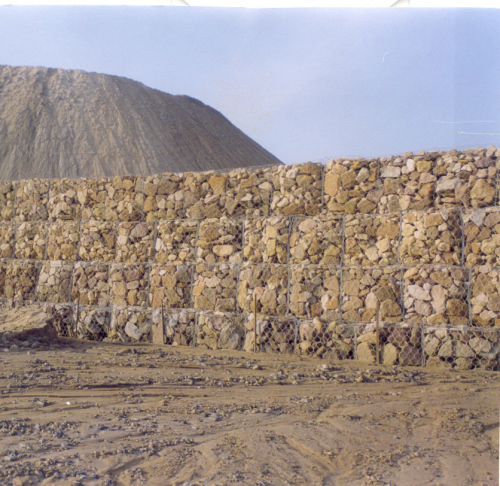 Gabions Northern Coalfields MIne India