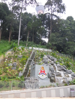 Slope rectification that lead to discovery of a secret tunnel - Maccaferri Philippines