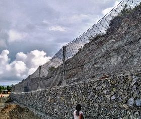 Rockfall protection Archives - Maccaferri Philippines | Maccaferri
