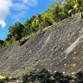 Slope Protection works at Philippines