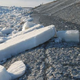Maccaferri Assessed Interaction between Coastal Protection Structures and Pools Ice Cover