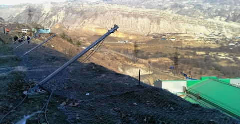 New case history Rockfall protection over Gotsatlinskaya hydropower plant pit