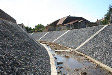 Revitalization of river channel in village Kostoľany pod Tribecom