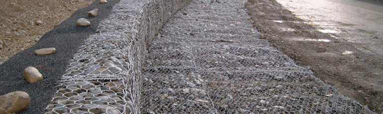 Gabion cages and baskets