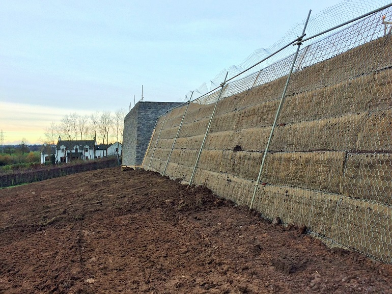 Retaining Walls & Soil Reinforcement