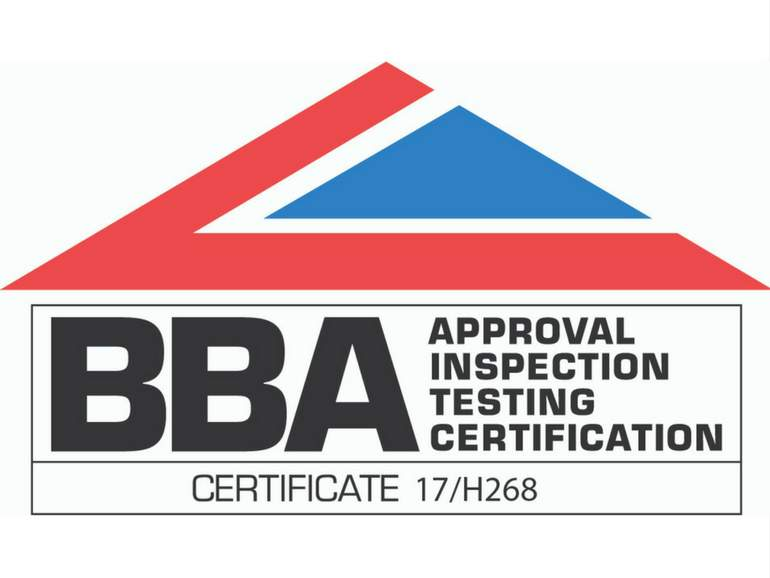 Anchor Wall Systemsapproved for BBA certificate