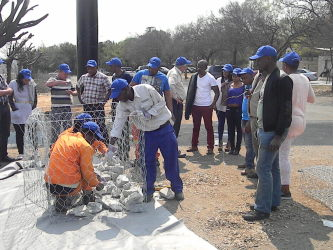 Gabion Installation training - Maccaferri Africa