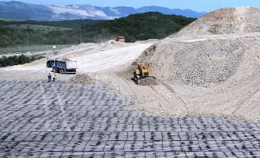 Geogrids for a basal reinforcement project|Maccaferri Africa